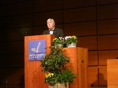 Избранный Президент МАИГ (2015-2018 гг.) проф. Скотт Бернс (США)